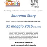 Locandina Sanremo Story 31.05.15
